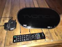 Tvonics Recorder + freeview with remote DTR-hd500