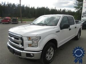 2015 Ford F-150 XLT 4WD SuperCrew 6 Passenger - 30,703 KMs