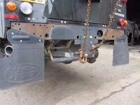 Waxoyl and chassis rust protection. Land Rover Defender Discovery Series
