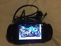 PSP portable games player