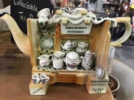Portmeirion ornamental tea pot