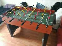 Table with several games