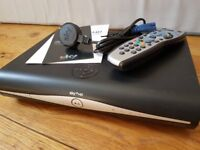 SKY HD+ digibox with remote control
