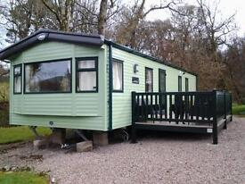 STATIC CARAVAN FOR SALE ~ ABBI OAKLEY 2016 MODEL ~ SITED AT HUNTERS QUAY DUNOON