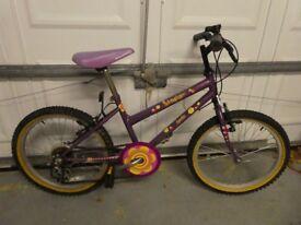 "Girls Bike - Apollo Independence 20"" Wheels, 5 Speed"