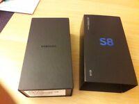 BNIB SAMSUNG GALAXY S8 64GB MIDNIGHT BLACK VODAFONE