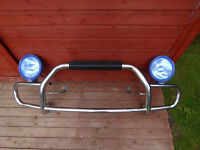 Mazda Bongo Front Nudge Light Bars Bullbars with lights and all brackets