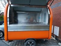 Catering Trailer Burger Van Pizza Trailer Hot Dog Ice Cream Cart 2300x1650x2300