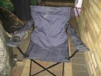 Camping chair & thermal sleeping bag