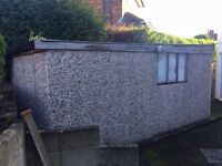 FREE! Prefab Garage available. Collection only - garage will need dismantling
