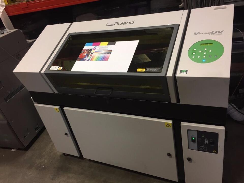 Roland LEF-300 UV Flatbed Printer - SUBLISTAR