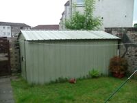 METAL SHED FOR SALE.