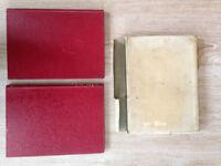 Original 1953 Coronation Book of Queen Elizabeth II & Pictoral Record Book