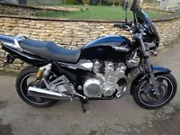 BEAUTIFUL XJR1300 RETRO MUSCLE BIKE - VERY LOW MILEAGE