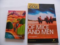 York Notes for GCSE - Of Mice and Men - *PLUS* Hardback Book by John Steinbeck