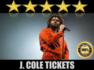 Discounted J. Cole Tickets | Last Minute Delivery Guaranteed!
