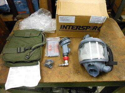 Interspiro Scba Mask Kit Cw 96038-01 900 Retail New