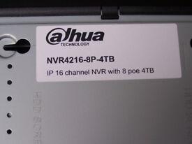 DAHUA CCTV RECORDER NVR4216-8P-4TB