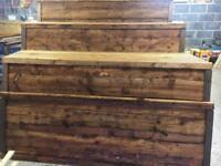 👑New Tanalised Brown Wayneylap Fence Panels