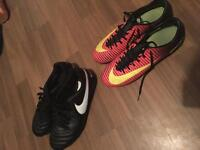 Nike tiempo football boots like new