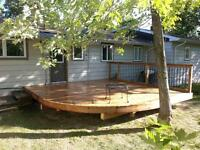 Decks, Docks, Steps & Repairs by GRIZZLY