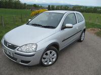 Vauxhall Corsa 1.2 SXI 3 Door YEARS MOT. Many new parts. £1,675