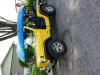 jeep tj 2002 4 cylindres 124000km