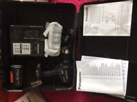 Panasonic Cordless Hammer Drill and Driver - New in case