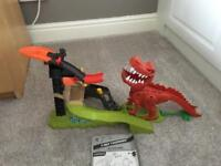 Hot wheels T. rex take down set