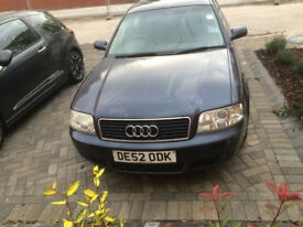 Non running Audi A6 2002 Automatic 1.8L petrol sold as spares