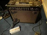 Fender Deluxe 900 amp with free new footswitch