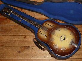 National Triolian Tenor guitar 1930s