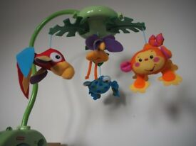 Fisher-Price Rainforest Musical Baby Mobile