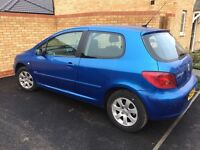 Peugeot 307 X Line, 2005, 1.4, MOT till June 17, 94k miles, excellent condition