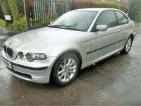 BMW 316ti compact 54 plate - spares/ repairs/ project