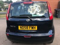 Reliable Blue Nissan Note 58 Plate