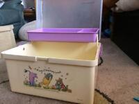 Winnie the Pooh Changing Box