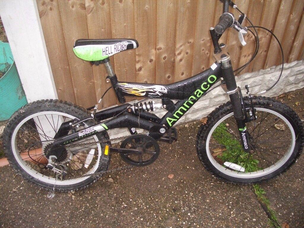Boys Ammaco hell rider bike for sale
