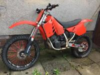 HONDA CR 250 EVO. Project. 1980's *SOLD PENDING COLLECTION