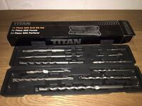 Titan 11 Piece SDS Drill Bit Set