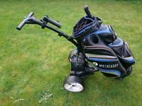 Motocaddy S3 golf trolley