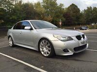 BMW 520D M Sport LCI Manual 177BHP Diesel 2008 SAT NAV/LEATHERS/FREEVIEW/HUD HPI CLEAR QUICK SALE!