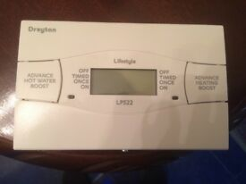 Drayton LP522 Electronic Programmer , 5 day / 2day , Dual Channel