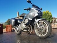Honda CBF 1000 With Panniers and Upgraded Suspension