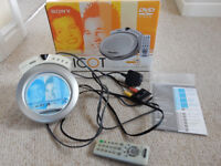 SONY PICOT DVP-PQ2 DVD/CD PLAYER COMPLETE