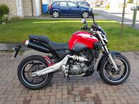 2007 YAMAHA MT-03 660cc RED VERY LOW MILEAGE