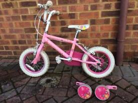 Princess Girls Bike - very good condition