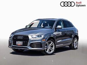 2018 Audi Q3 Progressiv W/NAVIGATION