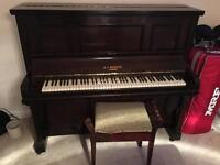 D.F.Meehan Upright Piano