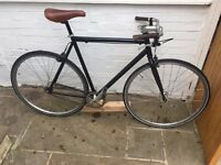 Vintage Retro Single Speed / Fixed Gear/ Fixie Bicycle - Great Condition